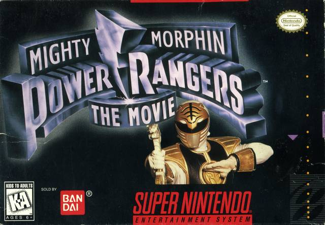 MIGHTY MORPHIN POWER RANGERS THE MOVIE (1995) SNES