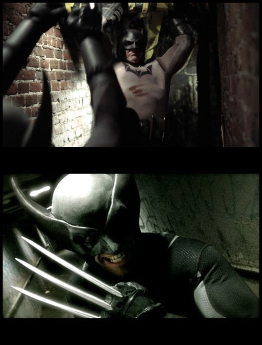 Batman Vs. Wolverine - Super Power Beat Down