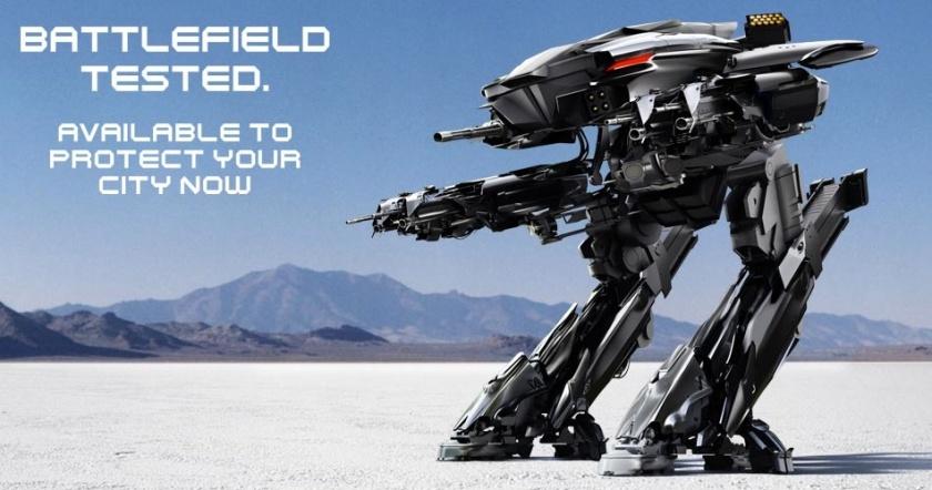 RoboCop - ED-209 - Omnicorp