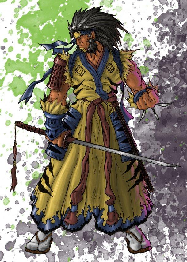 Wolverine Samurai