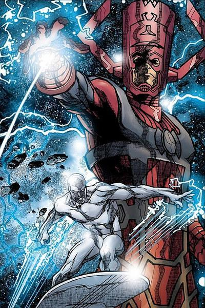 Galactus and Silver Surfer for Marvel Studios