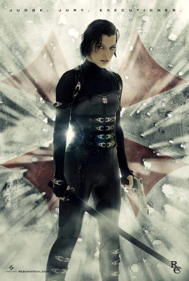 Resident Evil Retribution - Milla Jovovich
