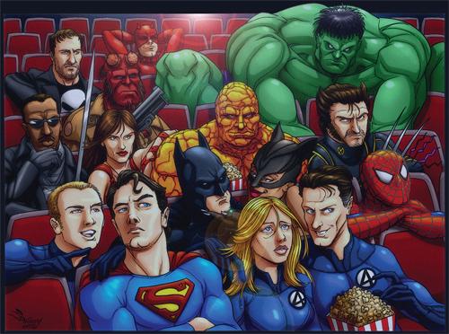 O Maiores Filmes De Super-Herói De Todos Os