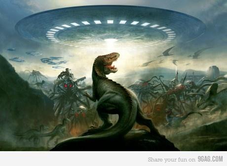 Aliens Vs. Dinossauros