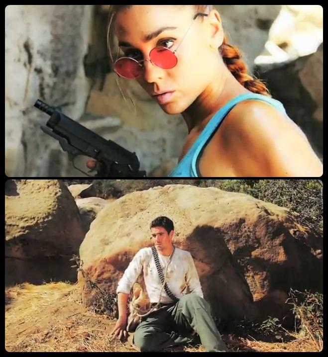Lara Croft (Tomb Raider) Vs. Natham Drake (Uncharted) - Super Power Beat Down - Episódio 04