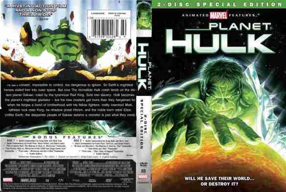 Planeta Hulk - DVD