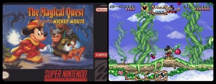 Mickey Magical Quest - Super Nintendo