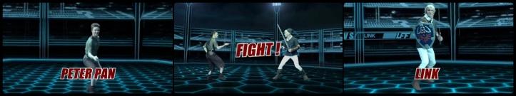 Ultimate Fan Fights - Episódio 03 - Link Vs. Peter Pan
