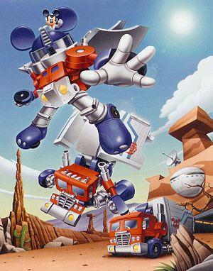 Disney pode comprar a Hasbro - Mickey Mouse Transformers