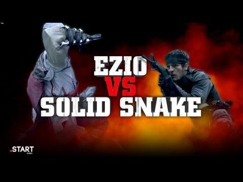 Ezio Vs. Solid Snake - Ultimate Fan Fights - Episódio 04
