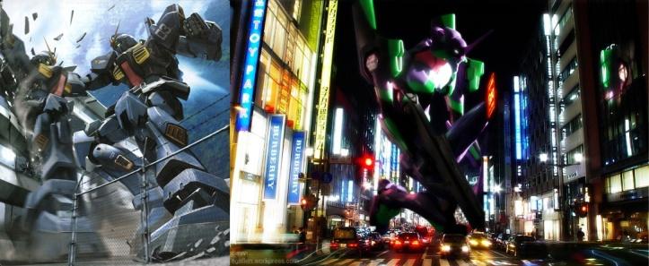 Gundam RX-178 Vs. EVA 01