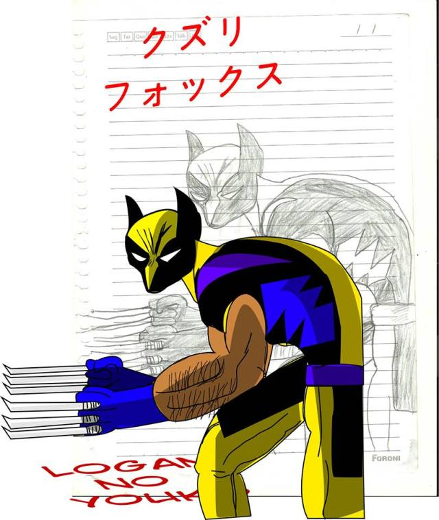 Logan no Youko - Fox Wolverine