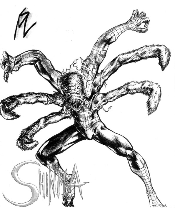 Spider-Man - Arachnid Monster