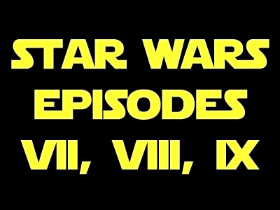 Star Wars VII, VIII, IX