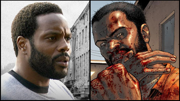 Tyreese - Chad Coleman - The Walking Dead
