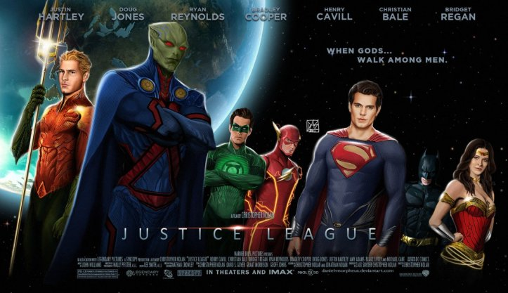 Justice League - Fan Poster Movie