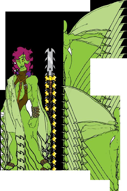 Lady Demona by Zaruia
