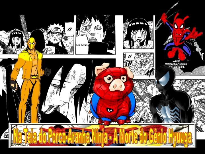 Na Teia do Porco-Aranha Ninja - A Morte do Gênio Hyuuga