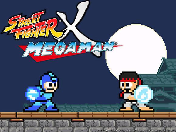 Street Fighter Vs. Mega Man - The Game