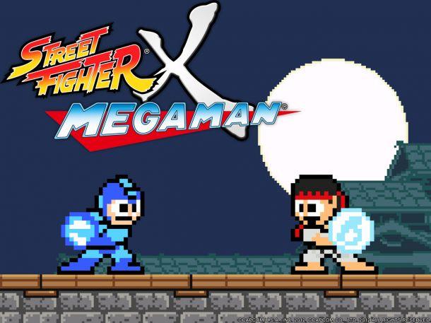 Street Fighter X Megaman - Capcom