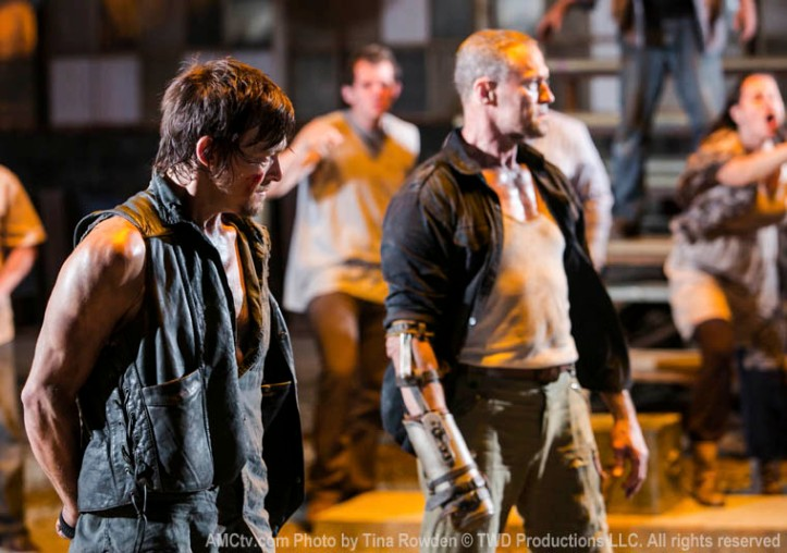 The Walking Dead - S03E09 - The-Suicide-King - Daryl e Merle, os irmãos Dixon