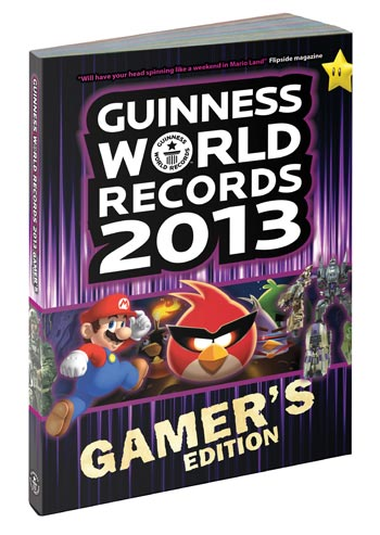 Guiness Book Records 2013 - Gamers Edition