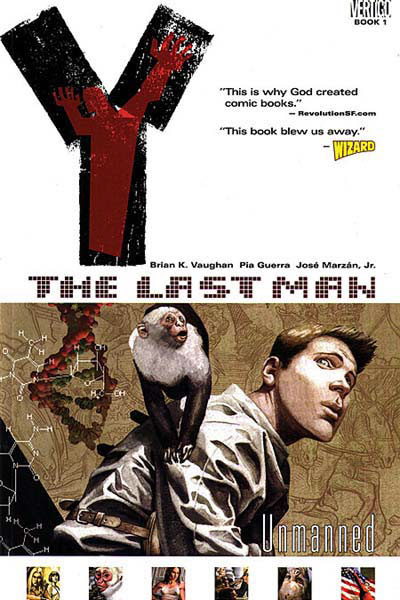 Y - The Last Man vai virar filme