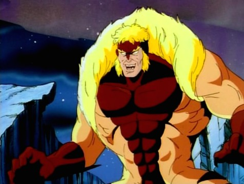 Dentes de Sabre - X-Men Série Animada