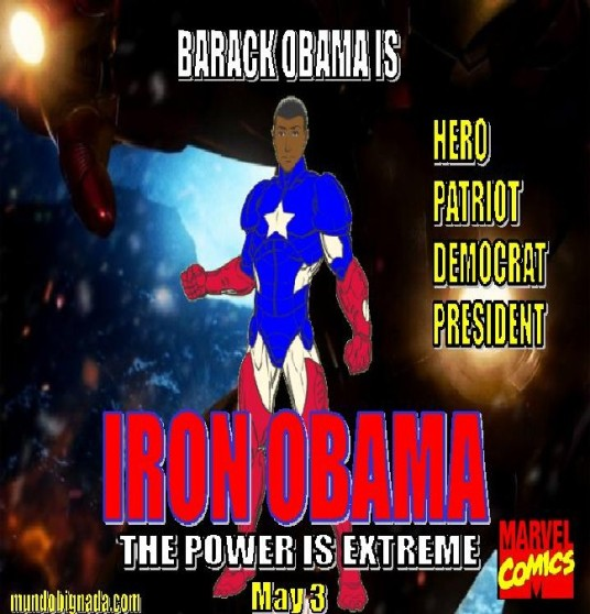 Iron Obama - Bignada Movie Poster