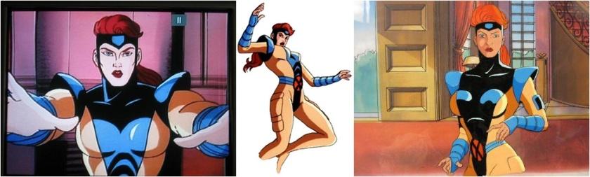 Jean Grey Pelada - X-Men Série Animada Clássica dos Anos 90