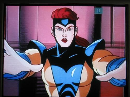 Jean Grey Pelada - X-Men Série Animada dos Anos 90