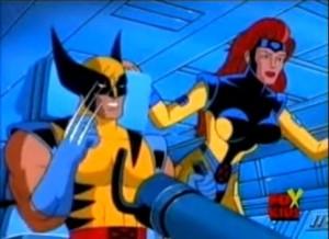 Jean Grey - X-Men Série Animada - Uniforme Colorido Certo - Azul e Amarelo