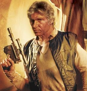 Old Han Solo - Star Wars - Episode VII