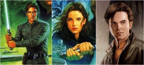 Star Wars - Jacen Solo, Jaina Solo e Anakin Solo