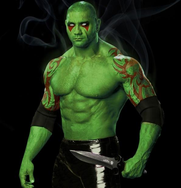 Guardiões Da Galáxia: Batista Da WWE Será Drax, O