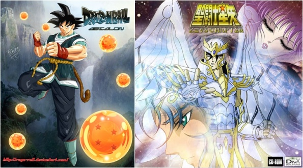 Dragon Ball Absalon - Cavaleiros do Zodíaco Saga de Zeus