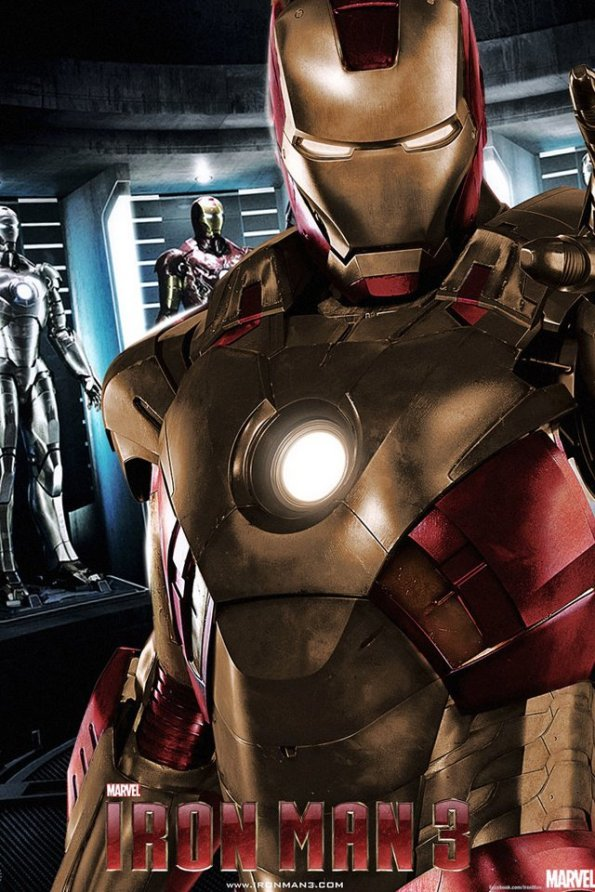 Iron Man 3 - Golden Armor Teaser Poster