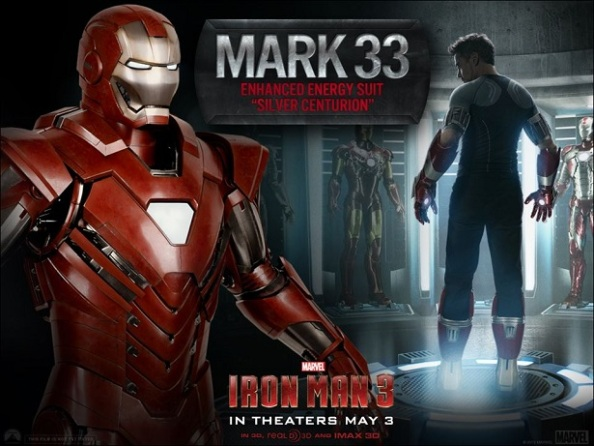 Iron Man 3 - Mark 33 - Centurião Prateado