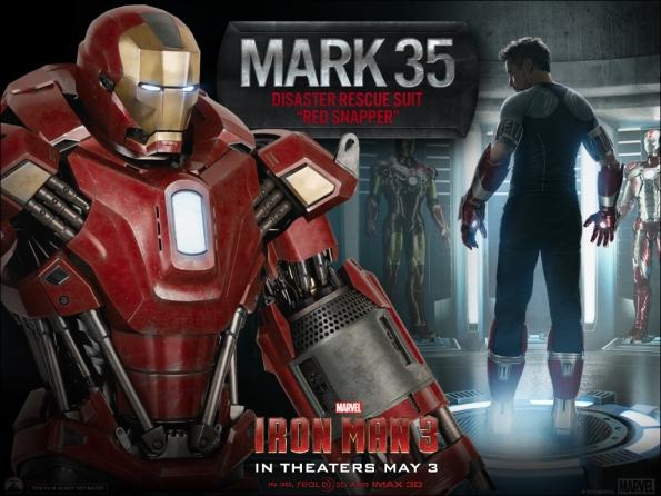 Iron Man 3 - Mark 35 Disaster Rescue Suit - Red Snapper