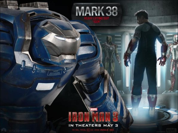 Iron Man 3 - Mark 38 Heavy Lifting Suit - Igor