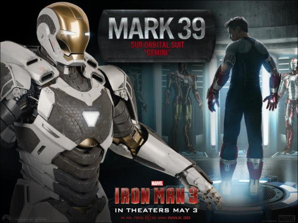 Iron Man 3 - Mark 39 Sub Orbital Suit - Gemini