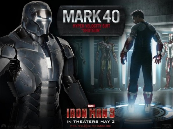 Iron Man 3 - Mark 40 - Hiper Velocity Shotgun