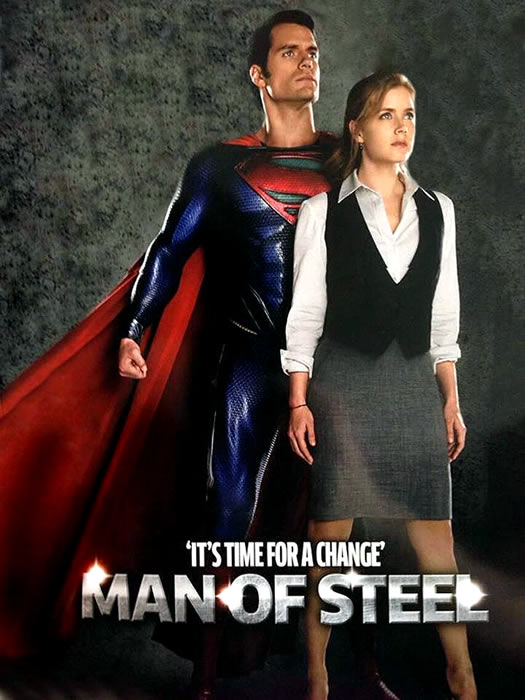 Man of Steel - Total Film - It´s Time for a Change