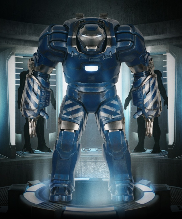 Mark 38 Heavy Lifting Suit - Igor