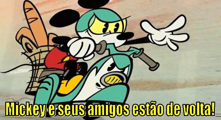 Mickey e seus amigos estão de volta