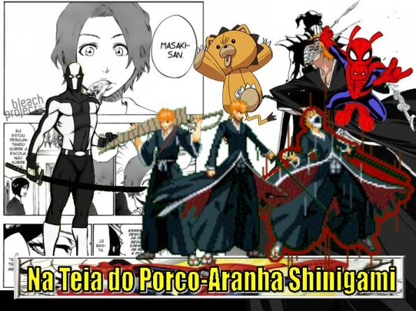 Na Teia do Porco-Aranha Shinigami - DNA Ichigo