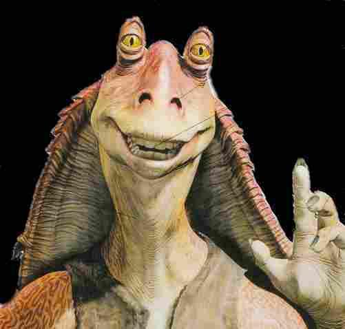 Jar Jar Binks - Star Wars - Episode VII