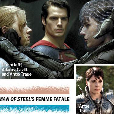 Man of Steel - Super Movie Preview - Superman, Lois Lane e Faora