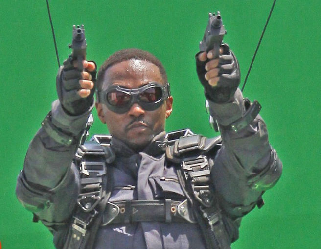 Capitain America - The Winter Soldier - Anthony Mackie - Falcon #02
