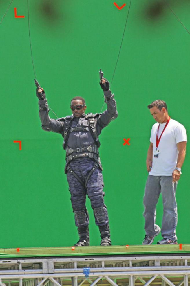 Capitain America - The Winter Soldier - Anthony Mackie - Falcon #08